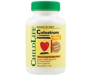 Colostrum plus probiotics