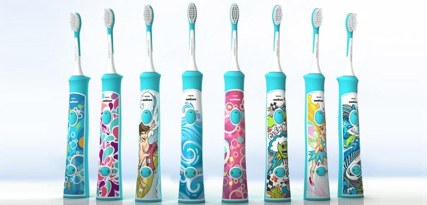 Periute de dinti electrice pentru copii